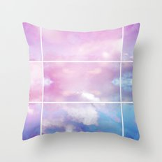 Pastel Sky II Throw Pillow