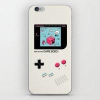 8bit iPhone & iPod Skins featuring 8bit Love by Elisa Sassi