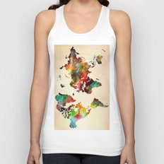 A Painted World Unisex Tank Top