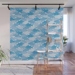 Jason's Blue Hogfish Camo Wall Mural