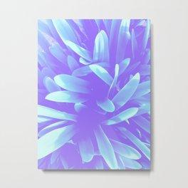 Elegance, Blue Metal Print