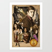 firefly Art Prints featuring Firefly by odysseyart
