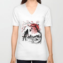 Japan dream Unisex V-Neck