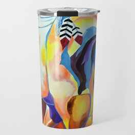 Native American Horse Travel Mug