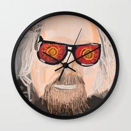 Big Lebowski - The dude Wall Clock