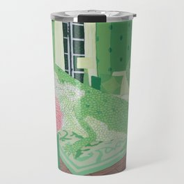 Green Anole Lizard Travel Mug