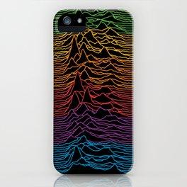 Joy Division - Unknown Apple Pleasures iPhone Case