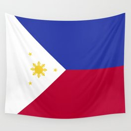 Philippines flag emblem Wall Tapestry