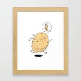 Keep Fit Goals Framed Art Print