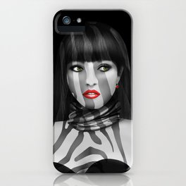 Exotic Lady iPhone Case
