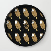 popsicle Wall Clocks featuring Popsicle by lazybones