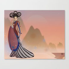 Empress Wu Zetian - China Canvas Print