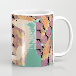 Two Foxes Looking into Each Other's Eyes 02 Coffee Mug