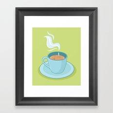 Hot Coffee, Not! Framed Art Print