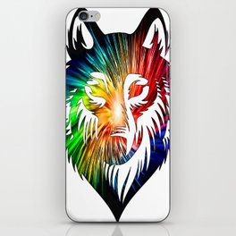 Wolf Universe iPhone Skin