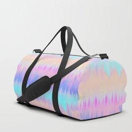 Pastel Rainbow Tie Dye Print Duffle Bag