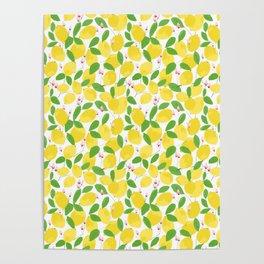 california lemons Poster
