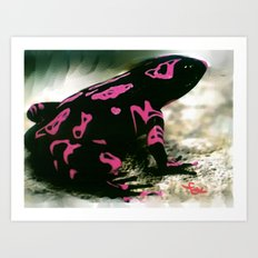 LOUNGE LIZARD Art Print