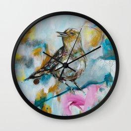 Honey & Ice Wall Clock