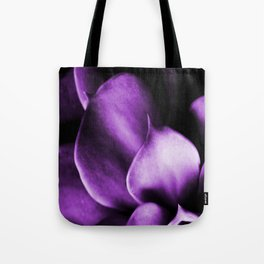 Succulent Leaves In Ultraviolet Color #decor #society6 #homedecor Tote Bag