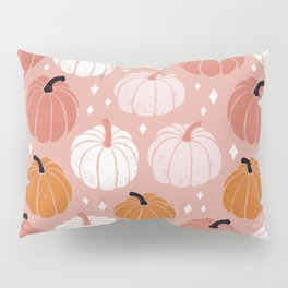 Peachy Pumpkin Pillow Sham