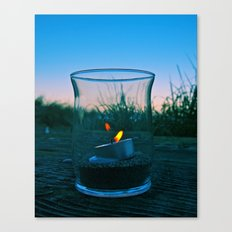 Seaside flame Canvas Print