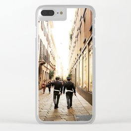 Cruising Milano Clear iPhone Case