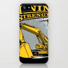 Excavator Mining iPhone Case