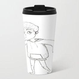 Tip-Toeing Travel Mug