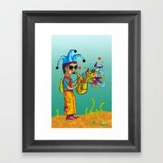 SaxoFunk Framed Art Print
