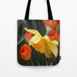 Narcissus Tulip  Tote Bag