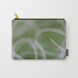 Abstract Image of Green Palm Leaves  Carry-All Pouch