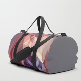 Colorful Polygons Abstract Deer Duffle Bag