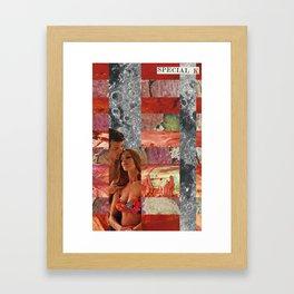 Fell in Love in Retrograde  Framed Art Print