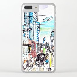 The Scramble Clear iPhone Case