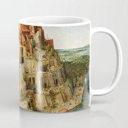 Tower Of Babel Pieter Bruegel The Elder Coffee Mug