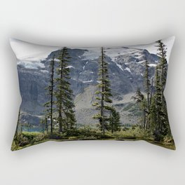 Lost in the forest of Whistler Canada Rectangular Pillow