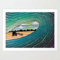 South Bay Bliss Art Print
