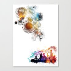 Timeless Explosions Canvas Print