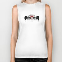 senna Biker Tanks featuring Senna MP4/4 by DasWauto