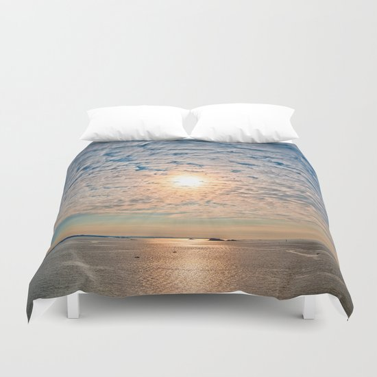 Saint-Malo Sunset Duvet Cover