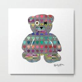 jew bear invert Metal Print