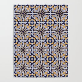 Portuguese tile Poster