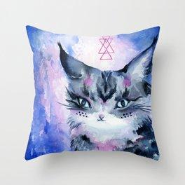 Lynx Cat : Magic Maker Throw Pillow