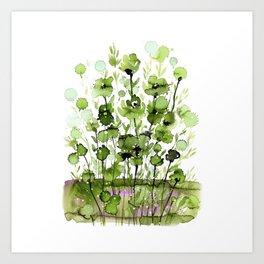 Floral Charm No.1I by Kathy Morton Stanion Art Print