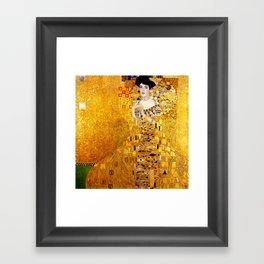 Gustav Klimt Adele Bloch-Bauer Framed Art Print