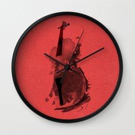 Symphony Series: Cello Wall Clock