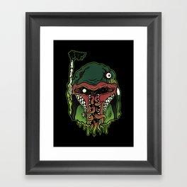 Monster Fett Framed Art Print