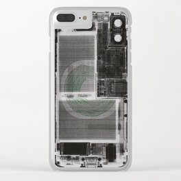 See through iPhone case design (Version 2) Clear iPhone Case