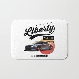 Nissan GT-R R35 Liberty Walk JDM Drift Japan Legendary Car Bath Mat